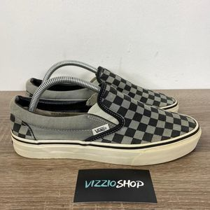 Vans - Plaid Slip On - Men's 8 - M/C